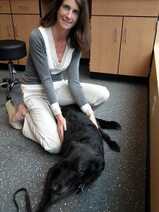 Dr. Paling with Shayna, at our June 20 discharge appt.